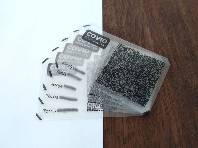 QR koda kartīte